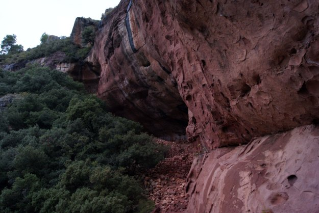 Grotte e resti di antichi rifugi
