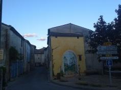 Inside the village of La Palud sur Verdon